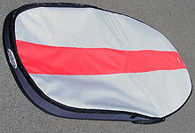 windsurfing board bag with a collar